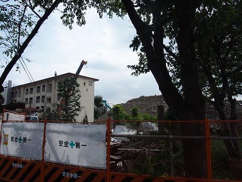 阿佐ヶ谷住宅解体