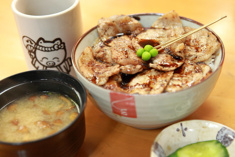 Eating in Hokkaido! Pork bowl 'Buta-don'