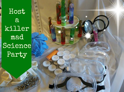 Mad science party kit school or home