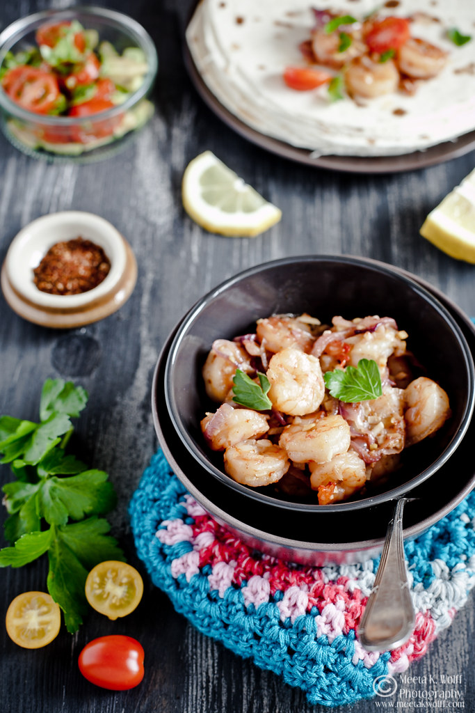 Prawn Ginger Garlic Tacos (0029) by Meeta K. Wolff