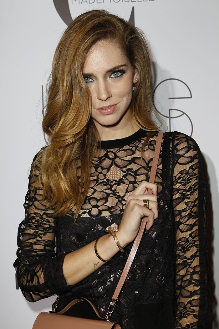 Chiara Ferragani in 18k Boucheron gold jewelry (4) copia