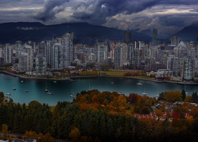vancouver in autumn