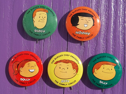 101_6520 Family Circus buttons from Burger Chef