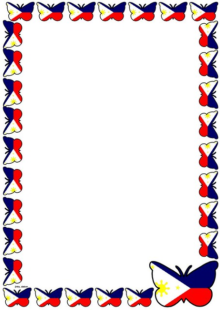 Philippine Flag Free Coloring Pages