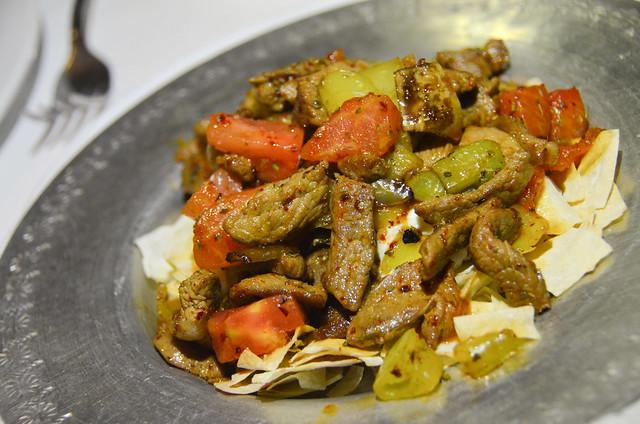 Kebab del restaurante Asitane comida turca