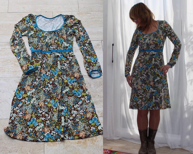 Jurk en jurk op model