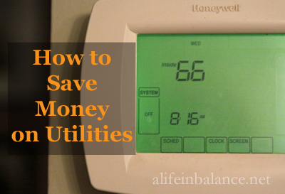 How to Save Money on Utilities