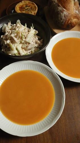 バターナッツのスープ by nekotano