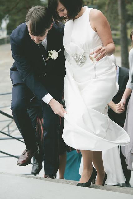 wedding, h + m.