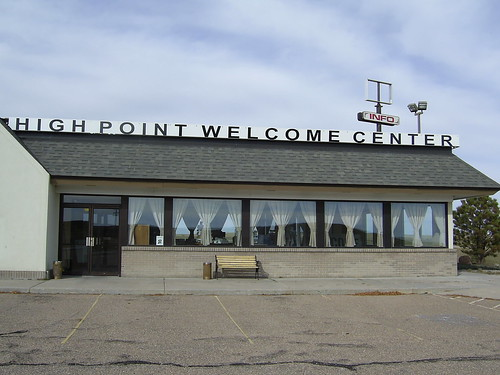 High Point Welcome Center, Kimball Nebraska