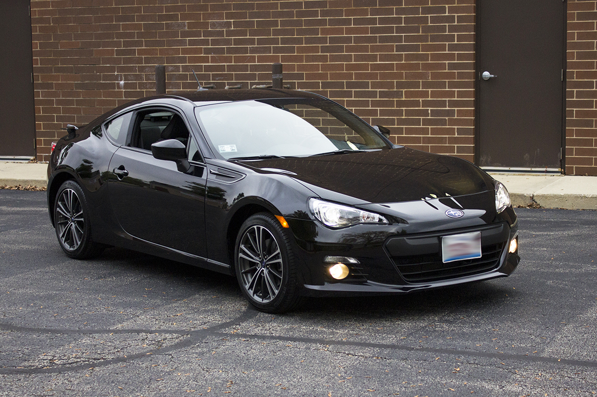 2013 subaru brz limited manual 21 900 w winter tires the chicago garage. Black Bedroom Furniture Sets. Home Design Ideas
