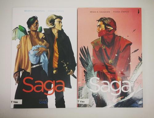 Saga volume 1&2