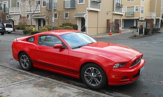Mustang - my hire car