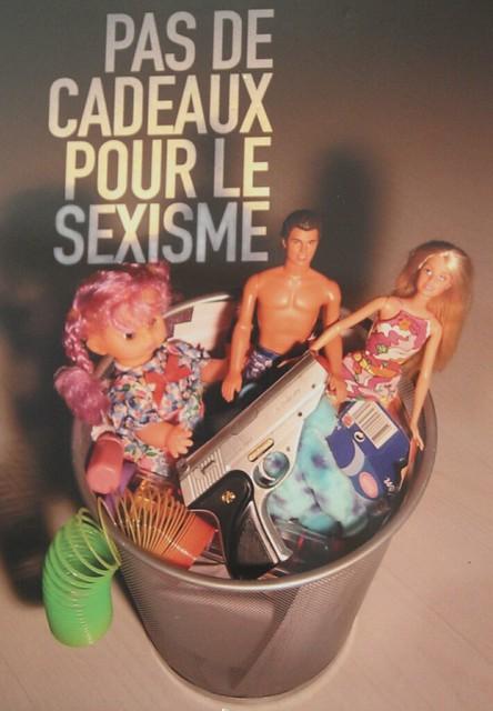 Affiche pas de cadeaux pour le sexisme flickr photo - Le rangement pour les nuls ...