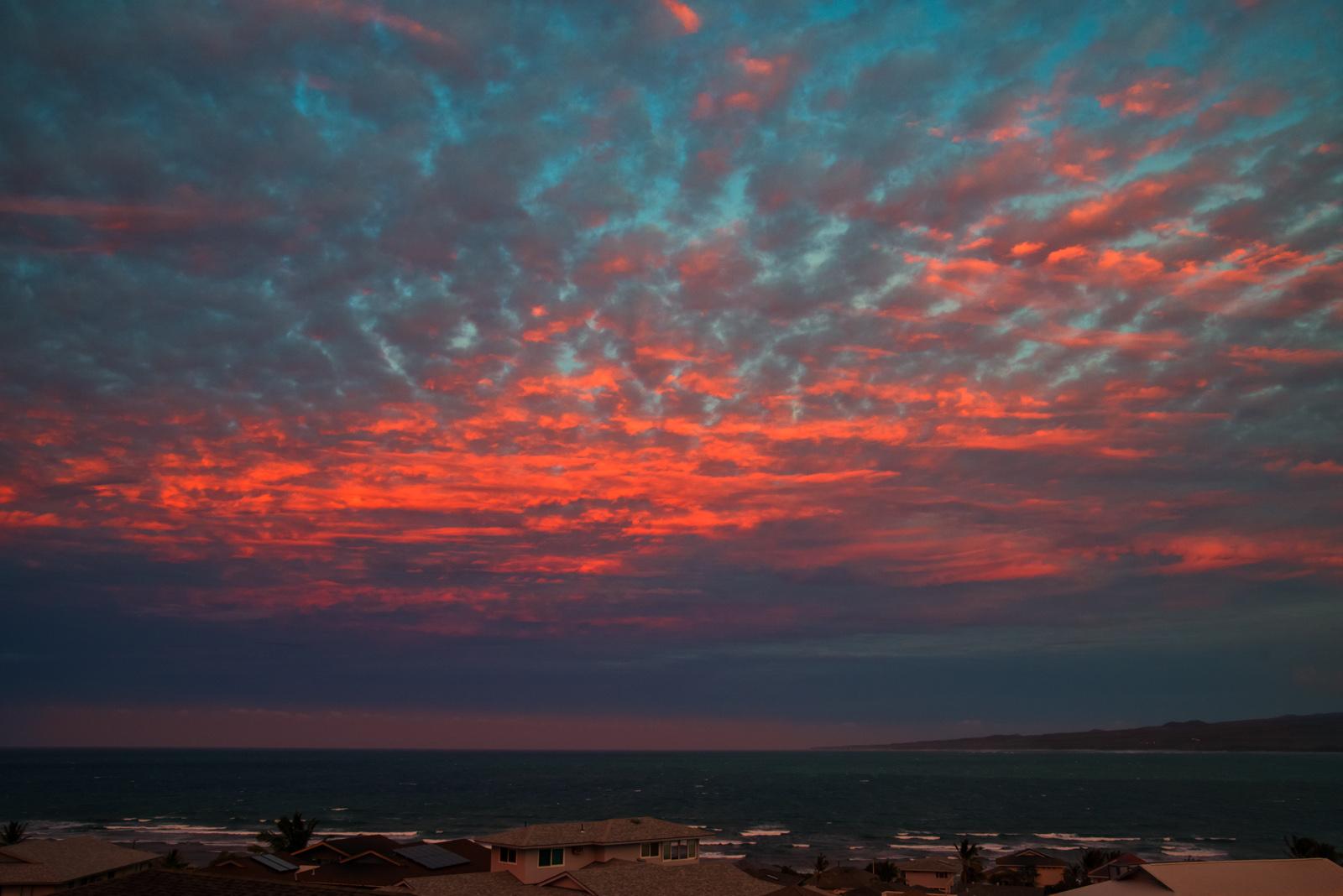 Waidhu sunset