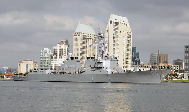 USS Preble (DDG 88) homecoming November 2013