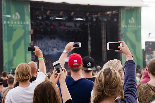 Surfa på Bråvallafestivalens våg för att skapa begreppet Musikstaden Norrköping.