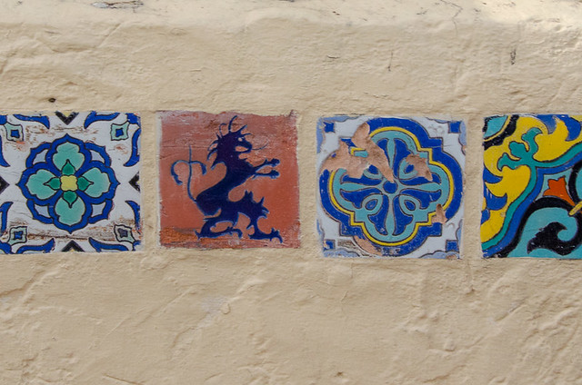 Catalina Island Pottery - colorful tiles