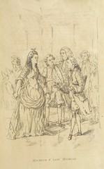 """British Library digitised image from page 131 of """"The Virginians; a tale of the last century ... With illustrations ... by the author"""""""