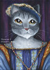 Francois I Cat Portrait