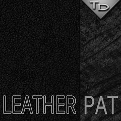Black leather pattern