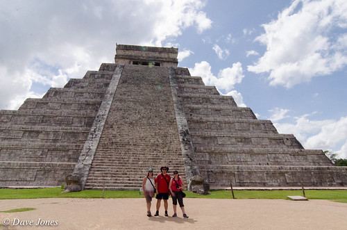 The gang at Chichen Itza