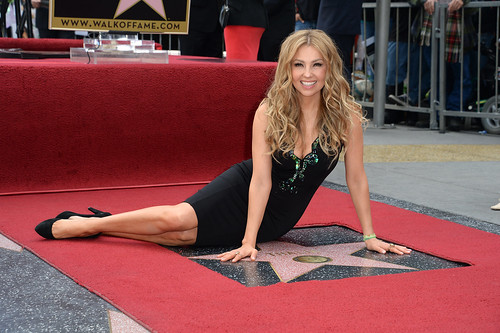 US-ENTERTAINMENT-THALIA-WALK OF FAME