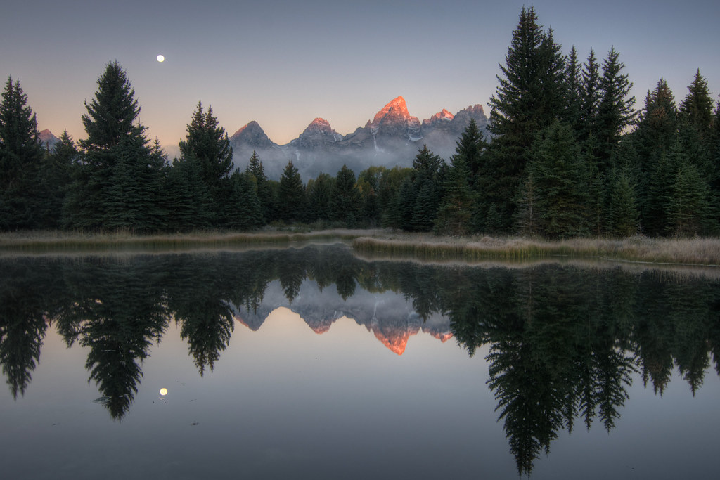 Schwabacher's Landing, Grand Teton National Park HDR