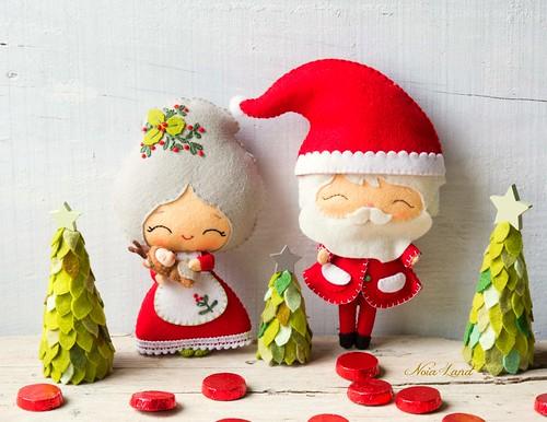 Señor y señora Claus