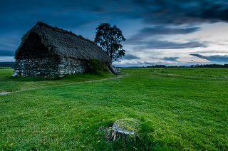 Culloden Battlefield at Night