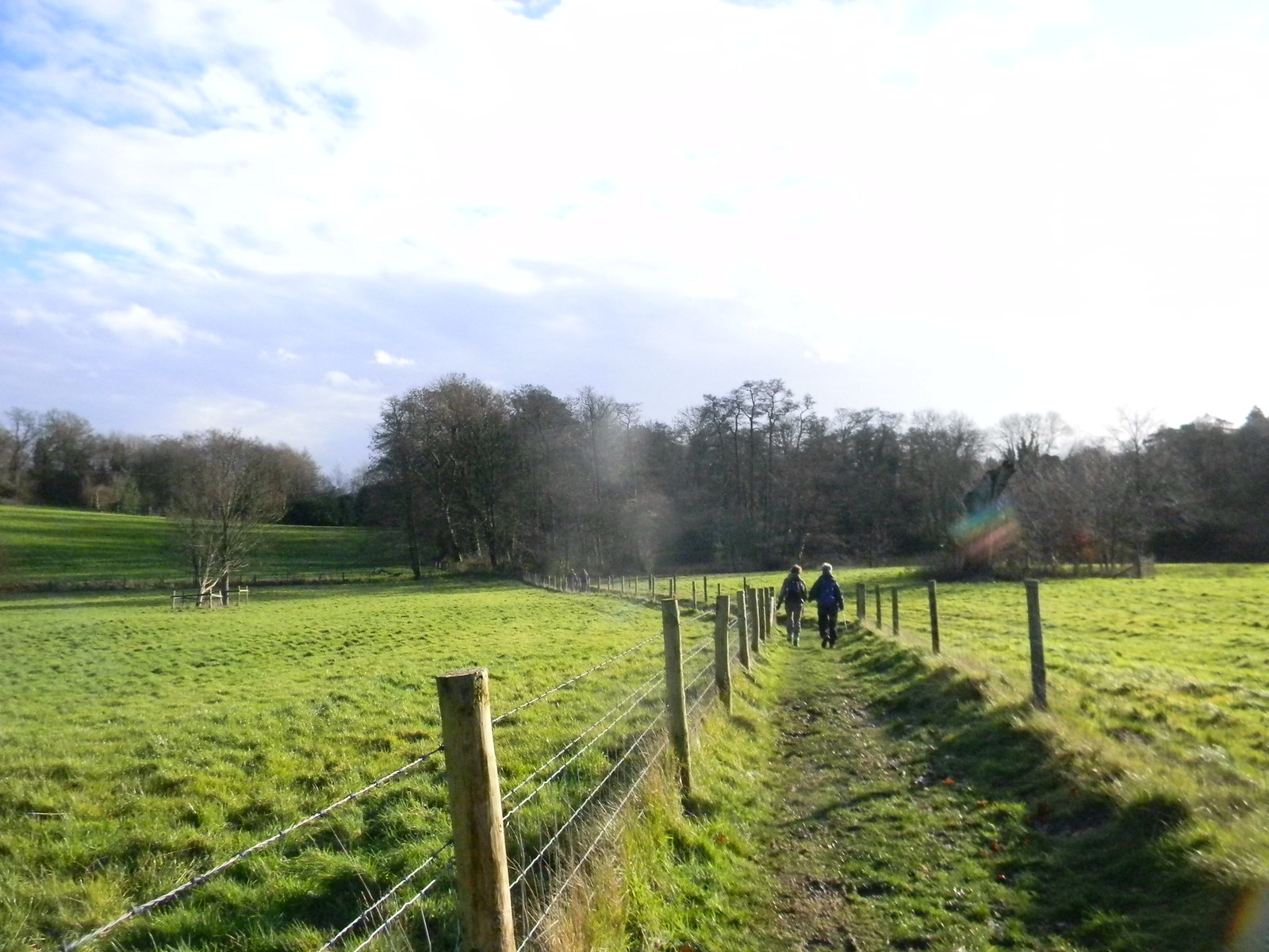 Not so tricky not-a-slope Woldingham to Oxted - short walk