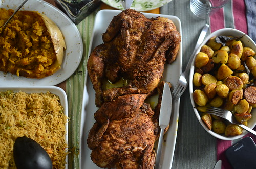 Nigerian Roasted Suya Chicken