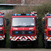 Isle of Wight Fire & Rescue Service Mercedes 1124 Automatic Spare Pumping Appliances-  V389 FDL, V393 FDL & V390 FDL by IOW 999 Pics