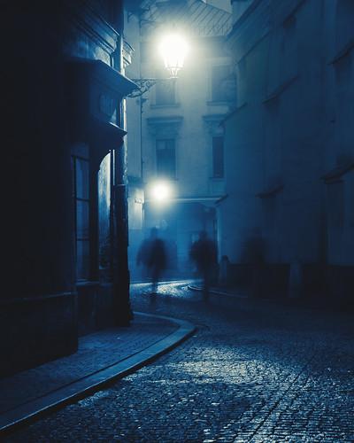 Nocturnal art nouveau