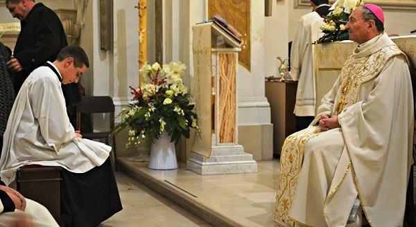 Noicattaro. Antonio Lattanzio verso il sacerdozio intera