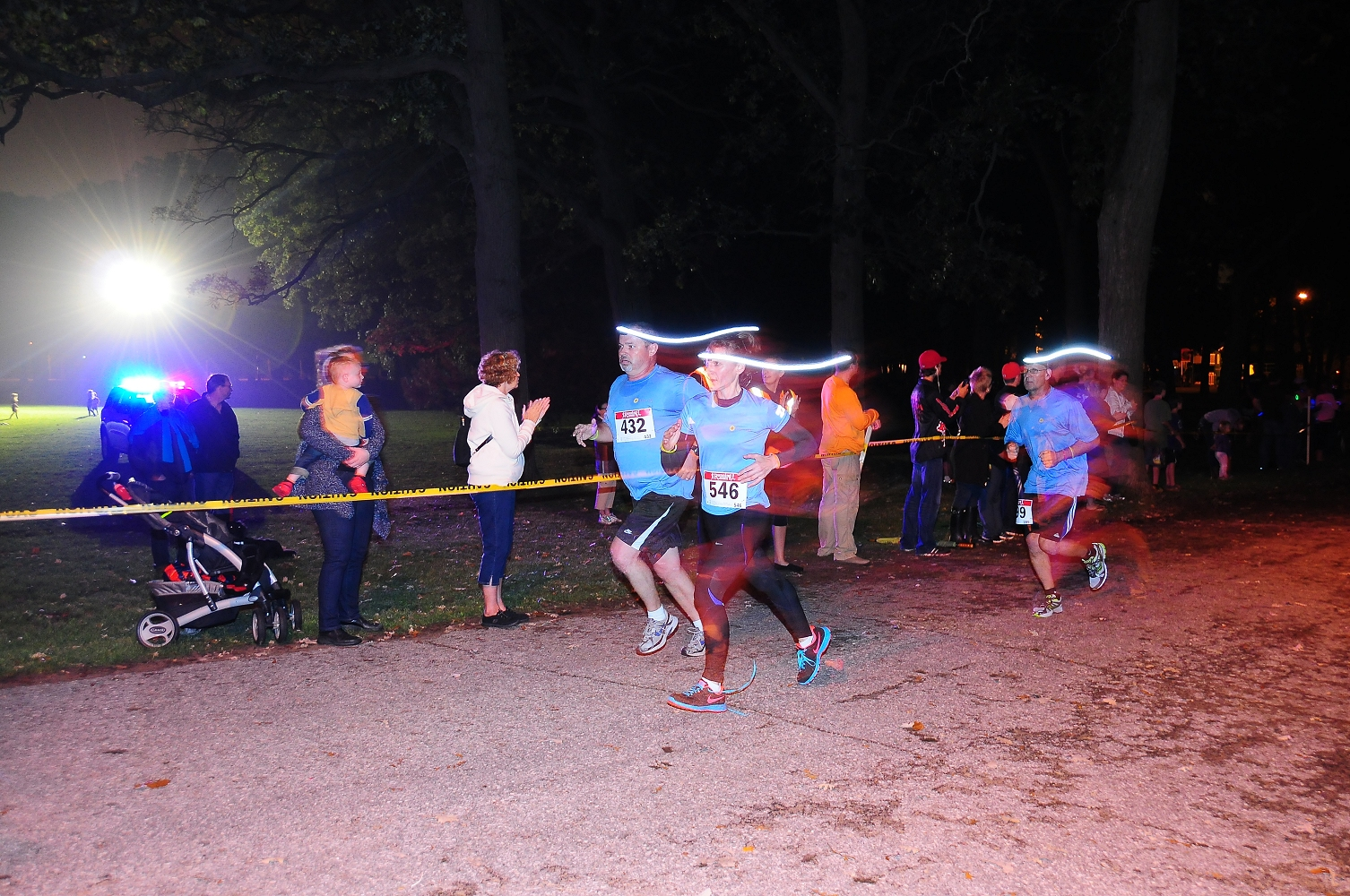 Noelle's Gift Night Run In Canatara Park