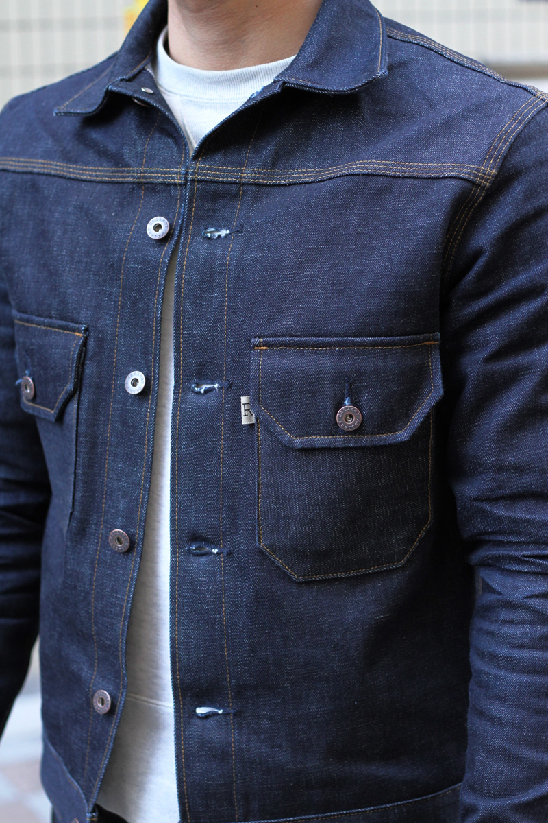 Railcar Fine Goods Deuce X012 Denim Jacket Made in USA