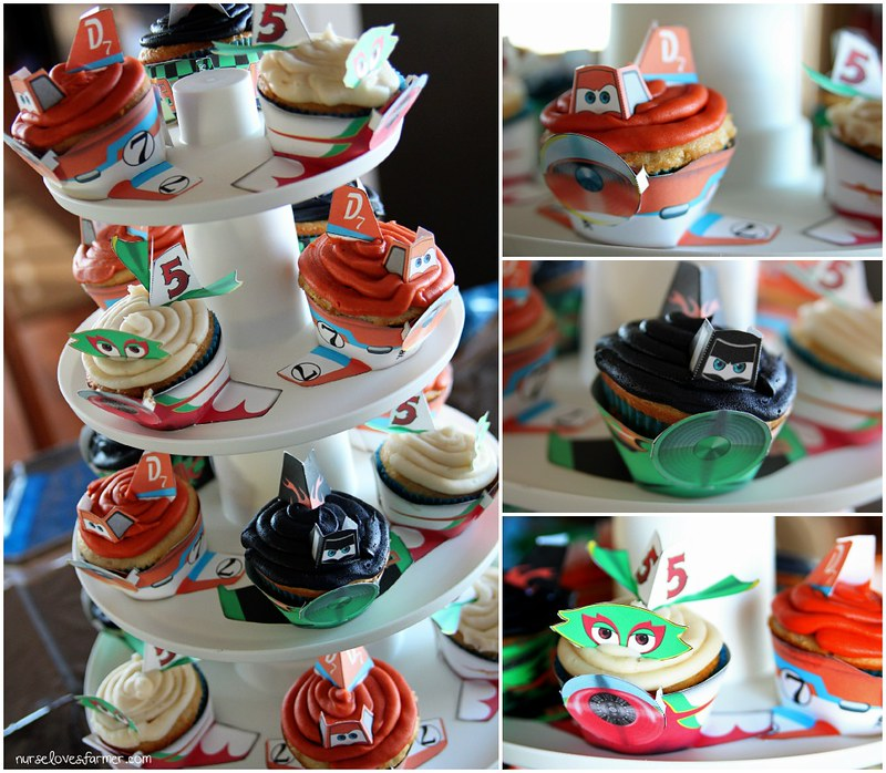 Disney Planes Birthday Party Cupcakes