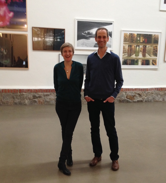 Nina Fischer and Maroan el Sani at Eigen+Art Leipzig, photo by artfridge