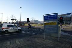 Plaatsnaambord Schiphol Oost