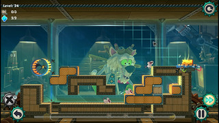 MouseCraft on PS Vita