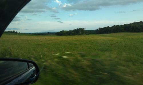 Rolling green hills of Chippewa