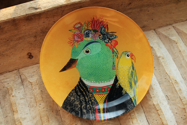Frida Glass Tray
