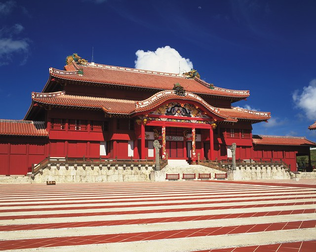 9.Shuri Castle_The world heritage Shuri Castle