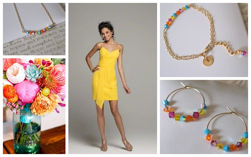{Spring/Summer Multi-Color} Bridesmaid's Style by Nina Renee Designs