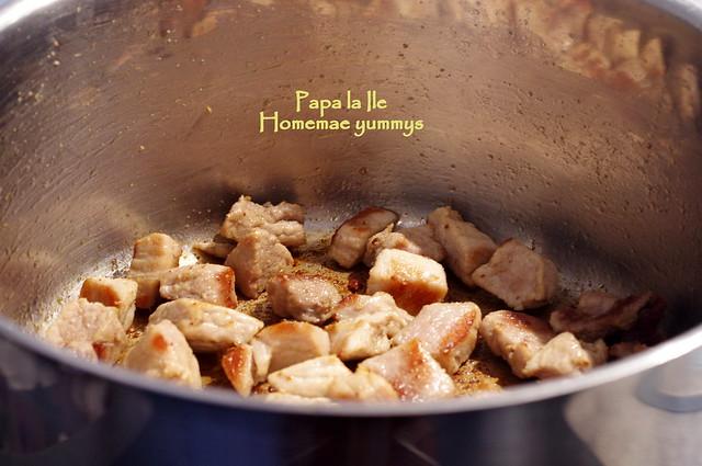 Mancare de vinete cu carne de porc (3)