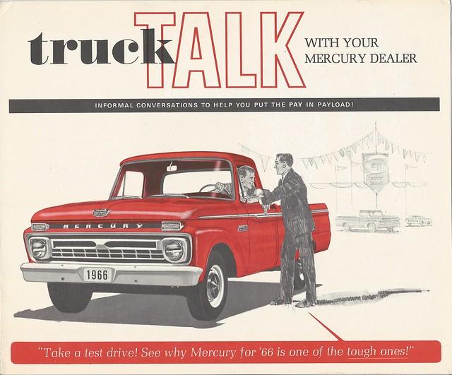1966 Mercury truck front