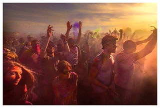 Holi Festival of Colors, Norwalk CA, Nikon D800E