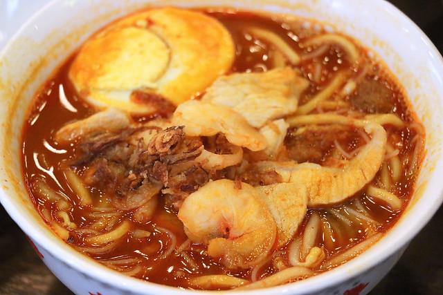 Prawn noodles soup at Malaysia Boleh