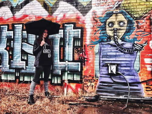 street portrait urban streetart art pose graffiti paint pittsburgh pennsylvania streetphotography wallart explore aerosol pgh streetview graffitiart iphone urbanphotography 412 burgh steelcity iphone5
